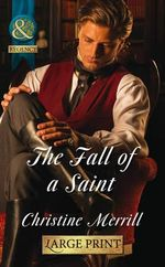 The Fall of a Saint - Christine Merrill