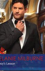 Playboy's Lesson : Mills & Boon Hardback Romance - Melanie Milburne