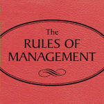 Rules of Management Audio CD - Richard Templar