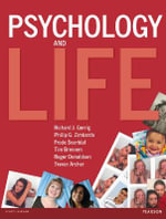 Psychology and Life - Richard J. Gerrig
