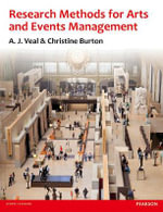 Research Methods for Arts and Event Management - Tony J. Veal
