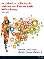Introduction to Research Methods and Data Analysis in Psychology - Darren Langdridge