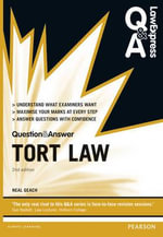Law Express Question and Answer : Tort Law - Neal Geach