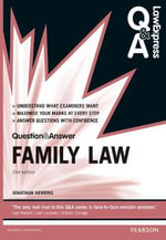 Law Express Question and Answer : Family Law - Jonathan Herring