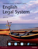 English Legal System MyLawChamber Premium Pack - Catherine Elliott