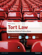 Tort Law MyLawChamber Premium Pack - Catherine Elliott