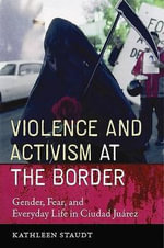Violence and Activism at the Border : Gender, Fear, and Everyday Life in Ciudad Juarez - Kathleen Staudt