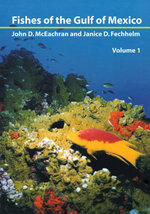 Fishes of the Gulf of Mexico, Vol. 1 : Myxiniformes to Gasterosteiformes - John McEachran