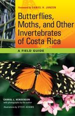 Butterflies, Moths, and Other Invertebrates of Costa Rica : A Field Guide - Carrol L. Henderson