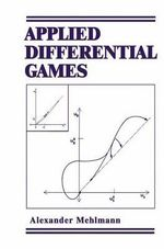 Applied Differential Games : International Conference Proceedings - Alexander Mehlmann
