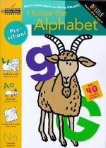 Sadx : I Know the Alphabet-Preschool - Golden Books
