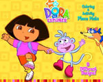Dora Place Mats : Dora the Explorer (Colouring Book with Activity Place Mats) - Golden Books