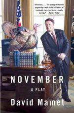 November : Vintage Ser. - Professor David Mamet