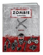 Zombie Survival Notes Mini Journal - Max Brooks