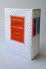 Mastering the Art of French Cooking Slipcase : Volumes 1 and 2 Hardcover - Julia Child