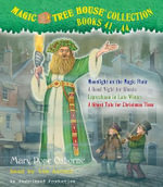 Magic Tree House Collection, Books 41-44 : Moonlight on the Magic Flute/A Good Night for Ghosts/Leprechaun in Late Winter/A Ghost Tale for Christmas Time - Mary Pope Osborne