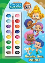 Ready, Set, Paint! : Deluxe Paint Box Book - Golden Books