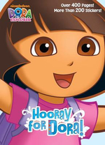 Hooray for Dora! : Dora the Explorer (with over 200 Stickers) - Golden Books