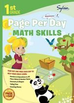 First Grade Page Per Day : Math Skills - Amy Kraft