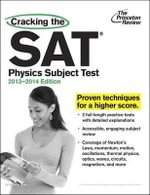 Cracking the SAT Physics Subject Test - Steven A Leduc