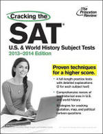 Cracking the SAT U.S. and World History Subject Tests - Grace Roegner Freedman
