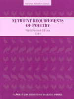 Nutrient Requirements of Poultry : Ninth Revised Edition, 1994 9ed - Subcommittee on Poultry Nutrition