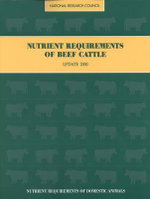 Nutrient Requirements of Beef Cattle : Update 2000 - Subcommittee on Beef Cattle Nutrition