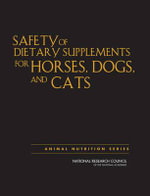 Safety of Dietary Supplements for Horses, Dogs, and Cats : Waltham Symposium Number 7 - Committee on Examining the Safety of Dietary Supplements for Horses, Dogs, and Cats