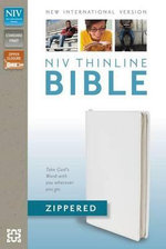NIV Thinline Zippered Collection Bible : Santa Biblia - Zondervan Bibles