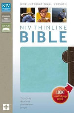 NIV Thinline Bible - Zondervan Publishing