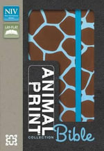 Animal-print Collection Bible, NIV - Zondervan