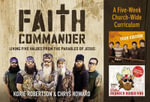 Faith Commander Church : Living Five Values from the Parables of Jesus - Korie Robertson
