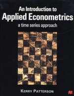 An Introduction to Applied Econometrics - Kerry Patterson