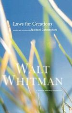 Laws for Creations - Walt Whitman