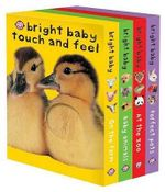 Bright Baby Touch & Feel Slipcase : On the Farm, Baby Animals, at the Zoo and Perfect Pets - Roger Priddy