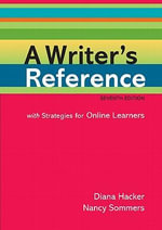 A Writer's Reference with Strategies for Online Learners : With Strategies for Online Learners - Diana Hacker