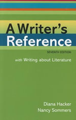A Writer's Reference [With Access Code] - Diana Hacker