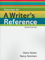 Exercises for a Writer's Reference - University Diana Hacker