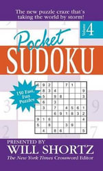 Pocket Sudoku : Volume 4 - Will Shortz