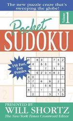 Pocket Sudoku : Volume 1 :  Volume 1 - Will Shortz