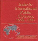 Index to International Public Opinion 1992-93 : 9/11 and the Making of National Identity