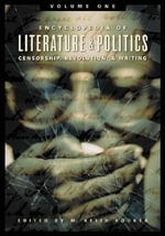 Encyclopedia of Literature and Politics Encyclopedia of Literature and Politics : Censorship, Revolution, and Writing A-Z [Three Volumes] Censorship, R :  Censorship, Revolution, and Writing A-Z [Three Volumes] Censorship, R - M. Keith Booker