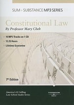 Constitutional Law - Mary Cheh