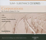 Corporations : Sum + Substance - James D Cox