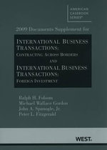 International Business Transactions : Contracting Across Borders and International Business Transactions: Foreign Investment - Ralph H Folsom