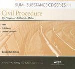 Civil Procedure : Sum & Substance (Audio) - Arthur R Miller