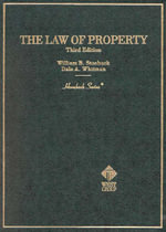 Hornbook on Law of Property E2 : Cases and Materials - CUNNINGHAM STOEBUCK ET AL