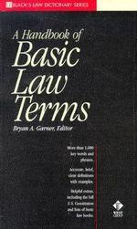 Black's-A Handbook of Basic Law Terms - Bryan A. Garner