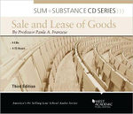 Sum and Substance Audio on the Sale and Lease of Goods, 3D - Paula A Franzese