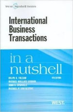International Business Transactions in a Nutshell - Ralph H Folsom